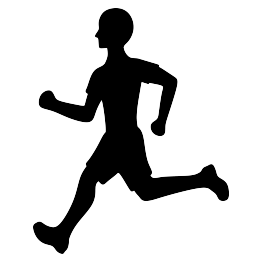 263x262 Runner Silhouette Free Svg Svg Files Silhouettes