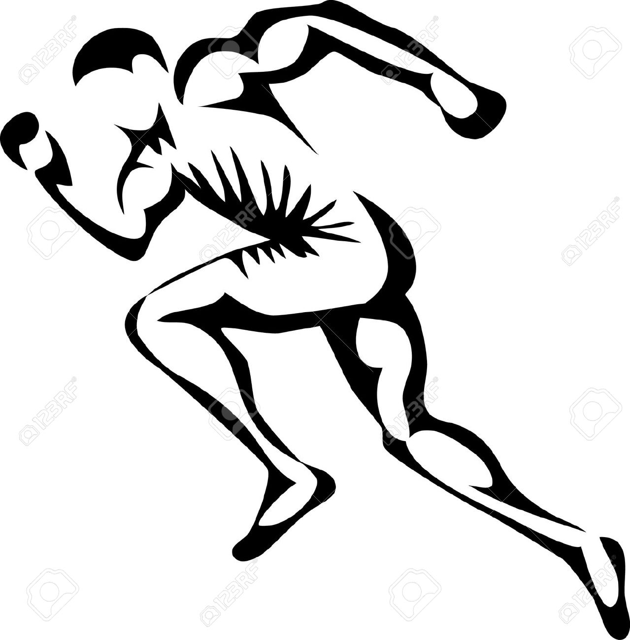 1279x1300 Track Runner Clipart Collection