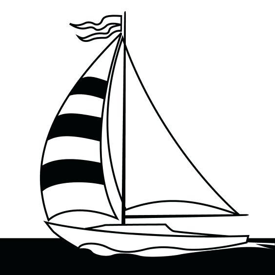 564x564 Sailboat Clipart Sailboat Sailboat Clipart Silhouette Sailboat