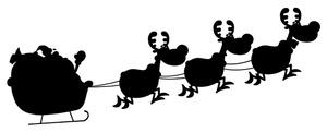 300x121 Free Free Reindeer Clip Art Image 0521 1010 3117 0556 Christmas