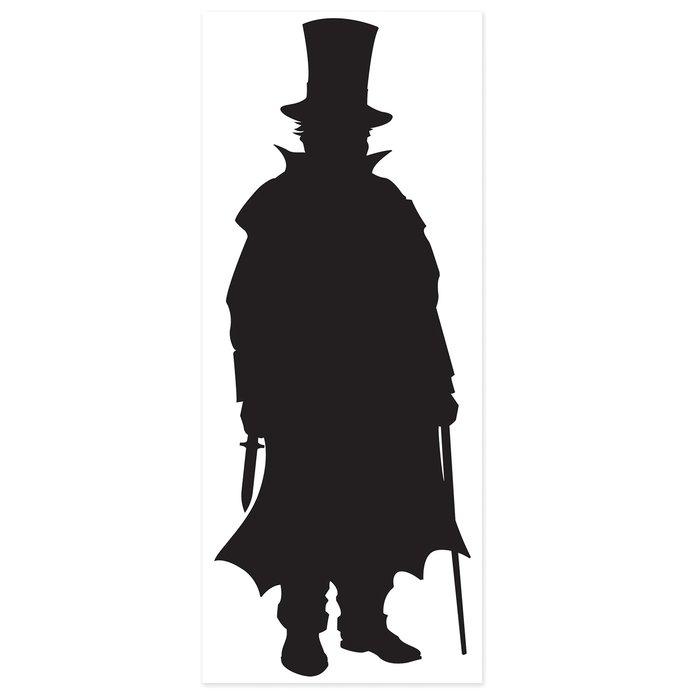 700x700 The Beistle Company Sherlock Holmes Villain Silhouette Standup