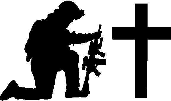 576x342 Kneeling Soldier Clipart On Soldier Kneeling Silhouette