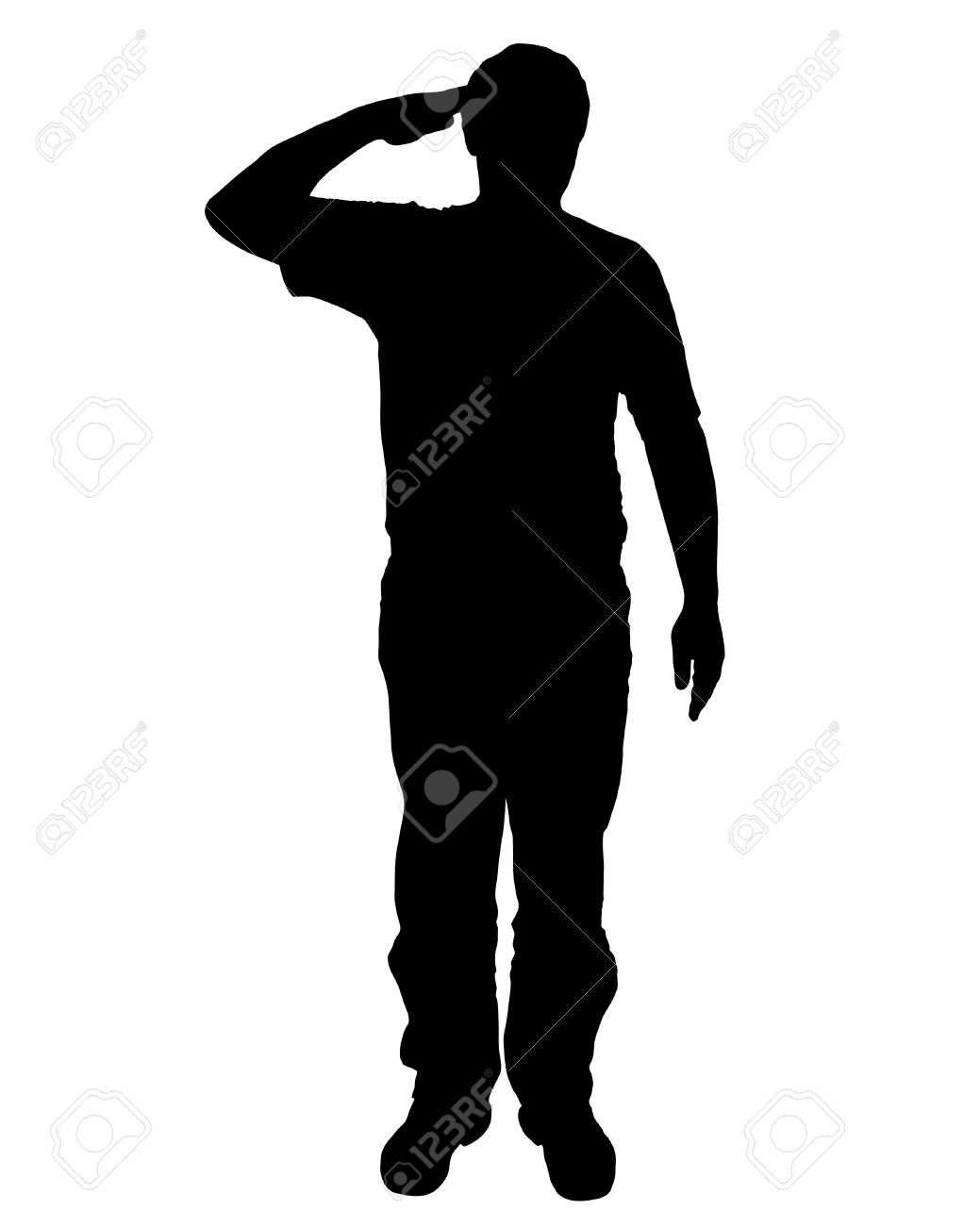 1039x1300 Soldier Clipart Hand Salute