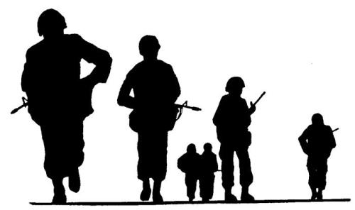 500x296 Soldiers Clipart Armed Force