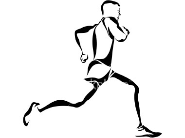 380x285 Drawing Of Someone Running