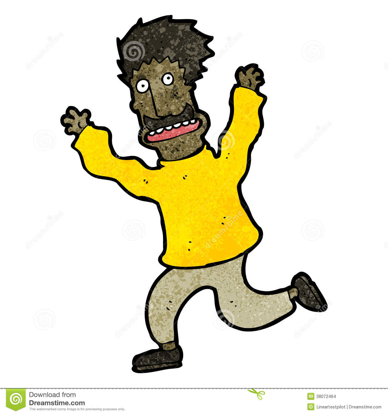 1300x1390 People Clipart Running Away