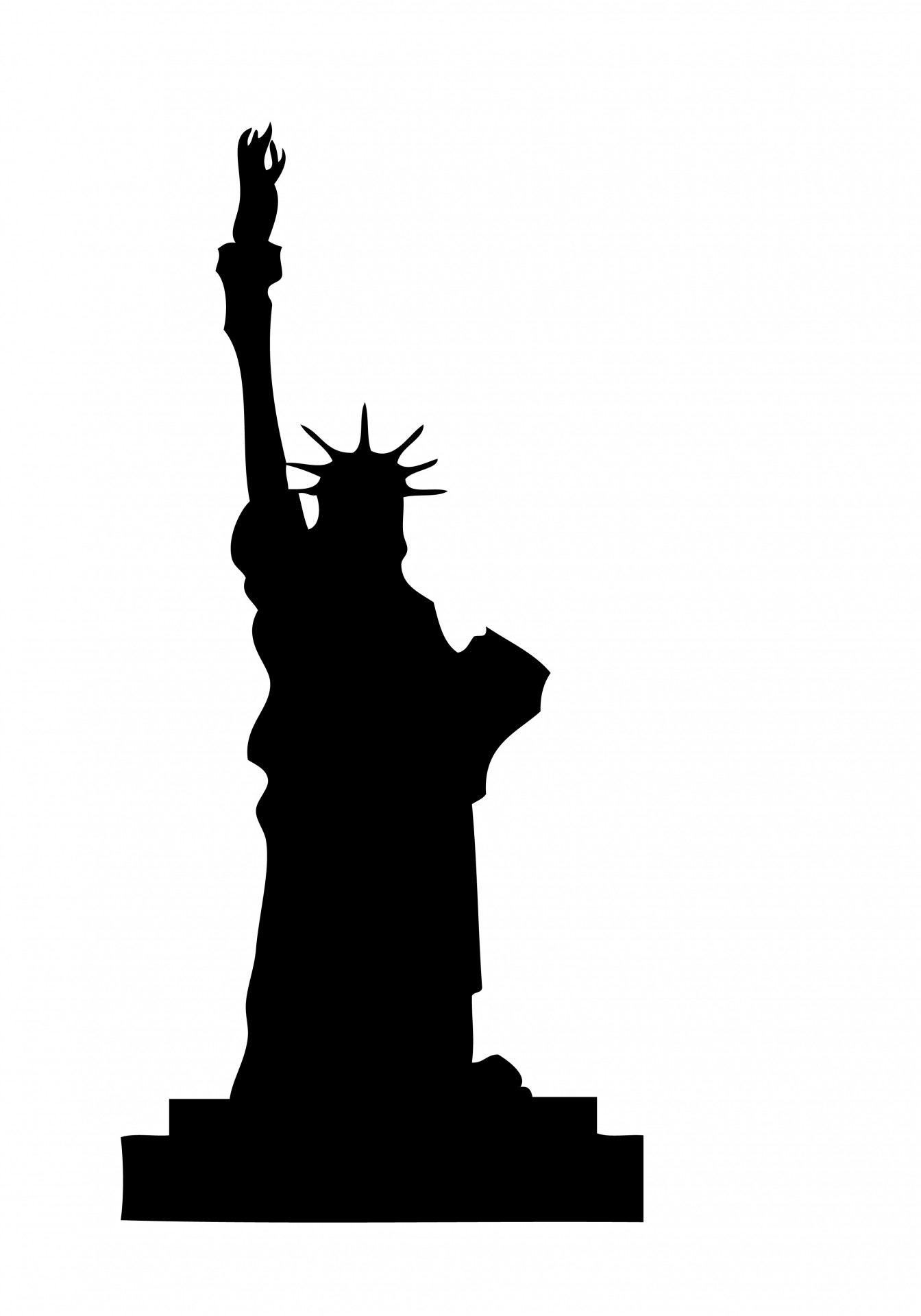 1344x1920 Statue Of Liberty Clipart Free Stock Photo