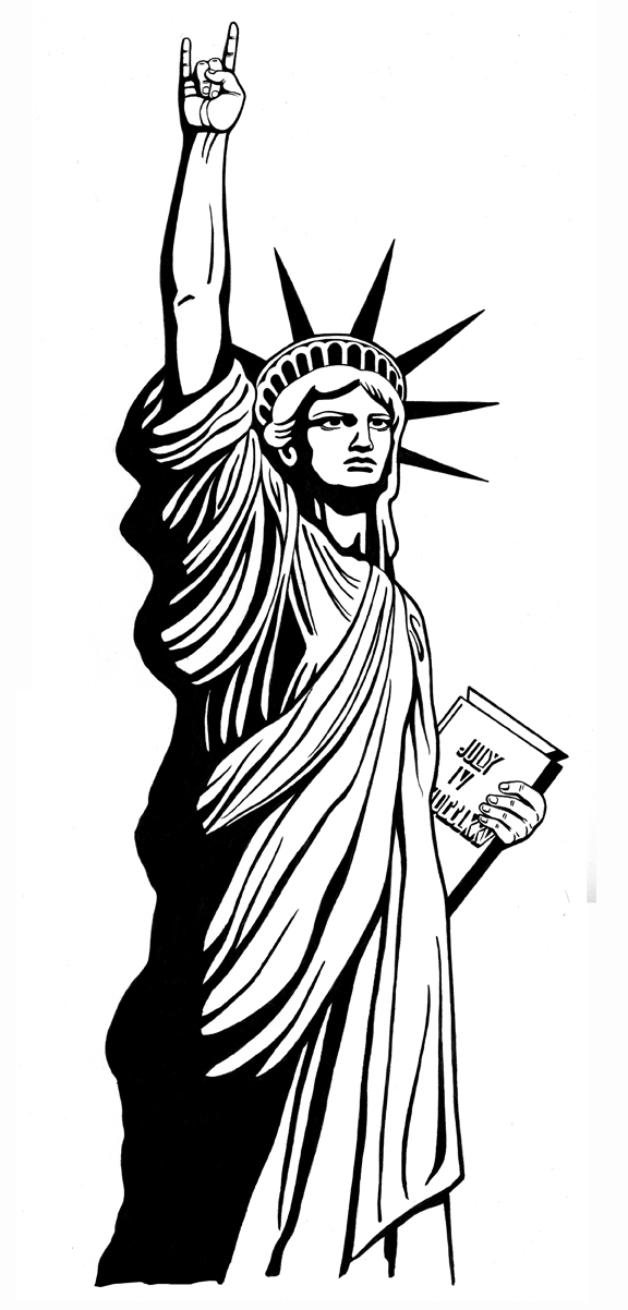 576x1202 Statue Of Liberty Drawing Outline Clip Art