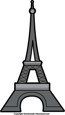 266x469 Eiffel Tower Silhouette Clipart Free Eiffel Tower Clipart