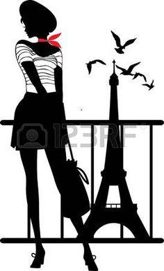 236x389 Illustration I Love Paris Affiches, Illustrations, Posters Par