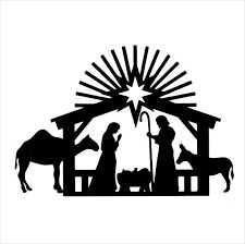 225x224 Image Result For Nativity Star Silhouette Christmas (Religious