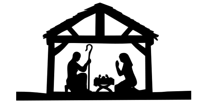 650x340 Nativity Scene Silhouette Decals4all, The 1 Stop Online Shop