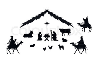320x205 The Birth Jesus Christ In Bethlehem. The Magi Bear The Gifts