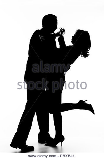 352x540 Silhouette Two People Dancing Against Stock Photos Amp Silhouette