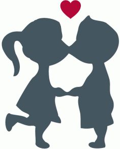 236x292 Young Girl Kissing Old Man Clipart