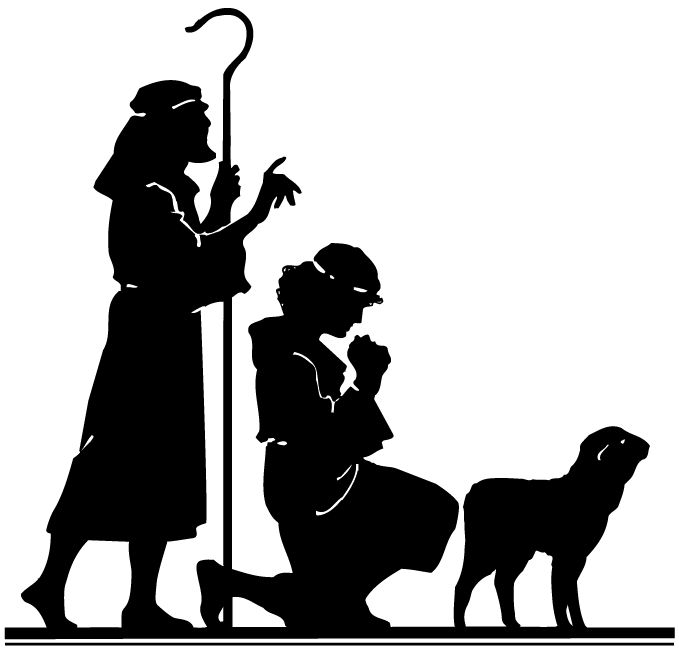 Silhouette Of Wise Men