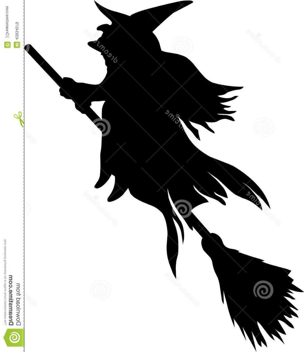1024x1188 Top 10 Silhouette Witch Flying Broom White Background File Free