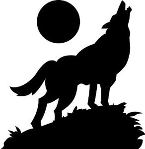 292x300 Wolf Howling At The Moon