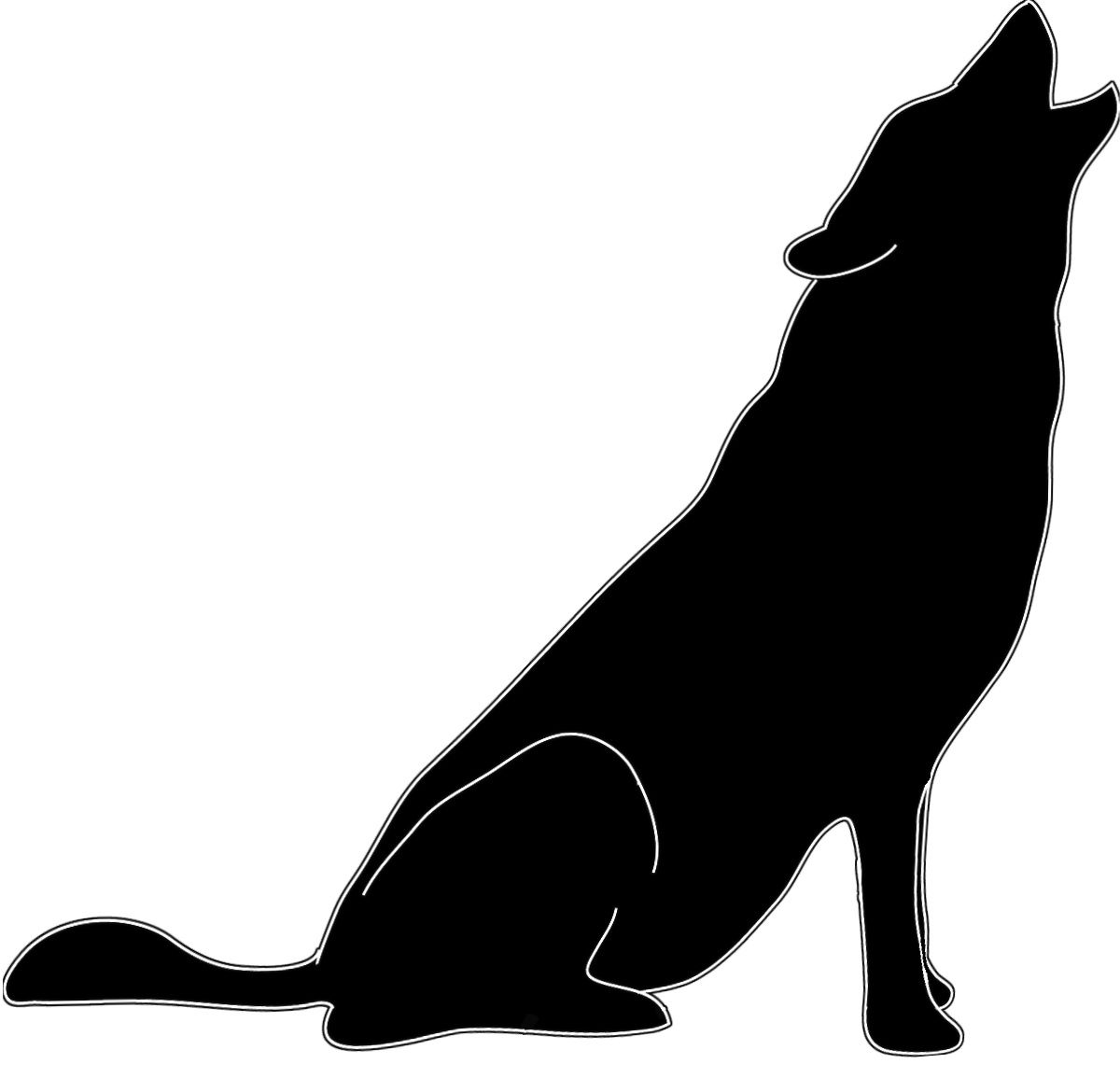 1200x1155 Silhouette Howling Wolf Stock Pictures Wolf Animal Silhouttes