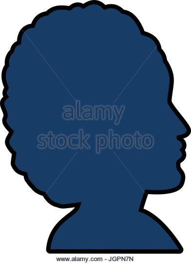 392x540 Woman Head Silhouette Vector Profile Stock Photos Amp Woman Head