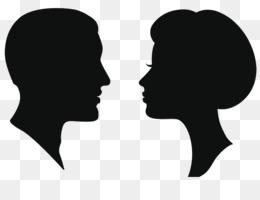260x200 Free Download Silhouette Female Man Clip Art