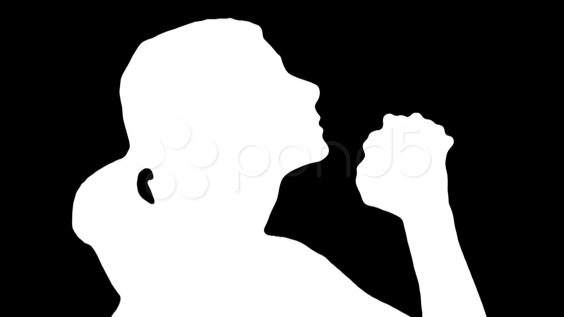 1920x1080 Woman Praying Black V2