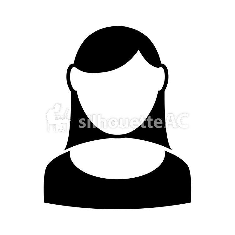 750x750 Free Silhouettes Lady, Woman