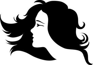 300x211 Long Hair Clipart Hair And Beauty