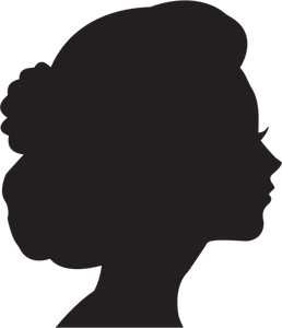 258x300 9168 Free Vector Face Profile Silhouette Public Domain Vectors