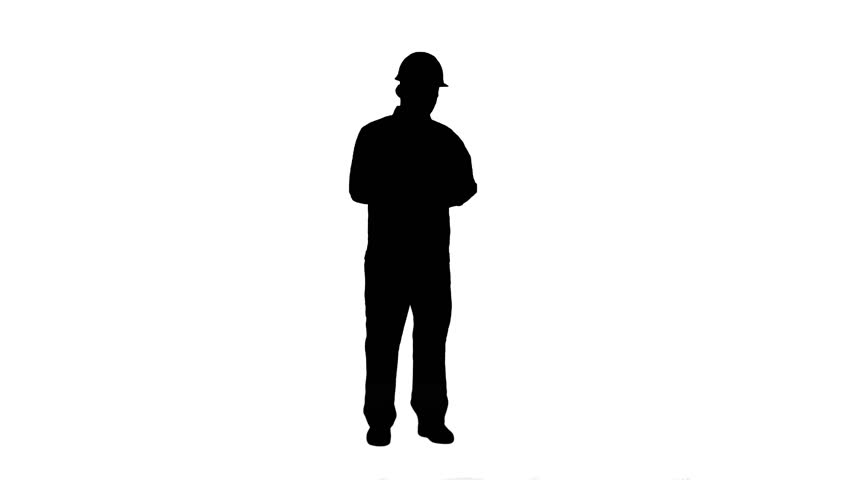 852x480 Silhouette Young Man In Suit Sending Text Messages On His Phone
