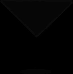 294x299 Margarita Glass Silhouette Clip Art