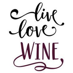 236x236 Wine A Little Laugh A Lot Phrase Silhouette Design, Silhouettes