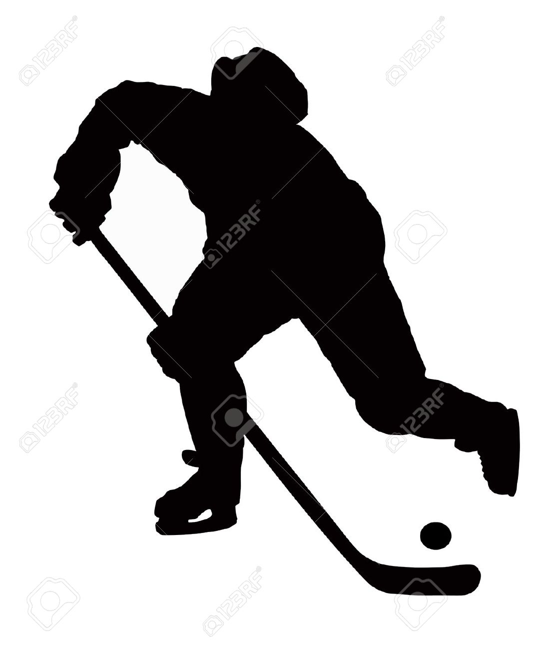 1083x1300 Free Hockey Player Silhouette Clipart Collection