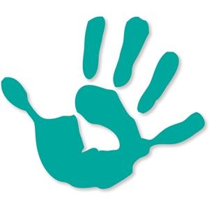 300x300 Handprint Clipart Hand Silhouette