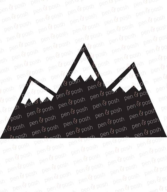 570x653 Mountain Svg Mountains Svg Mountain Clipart Mountain
