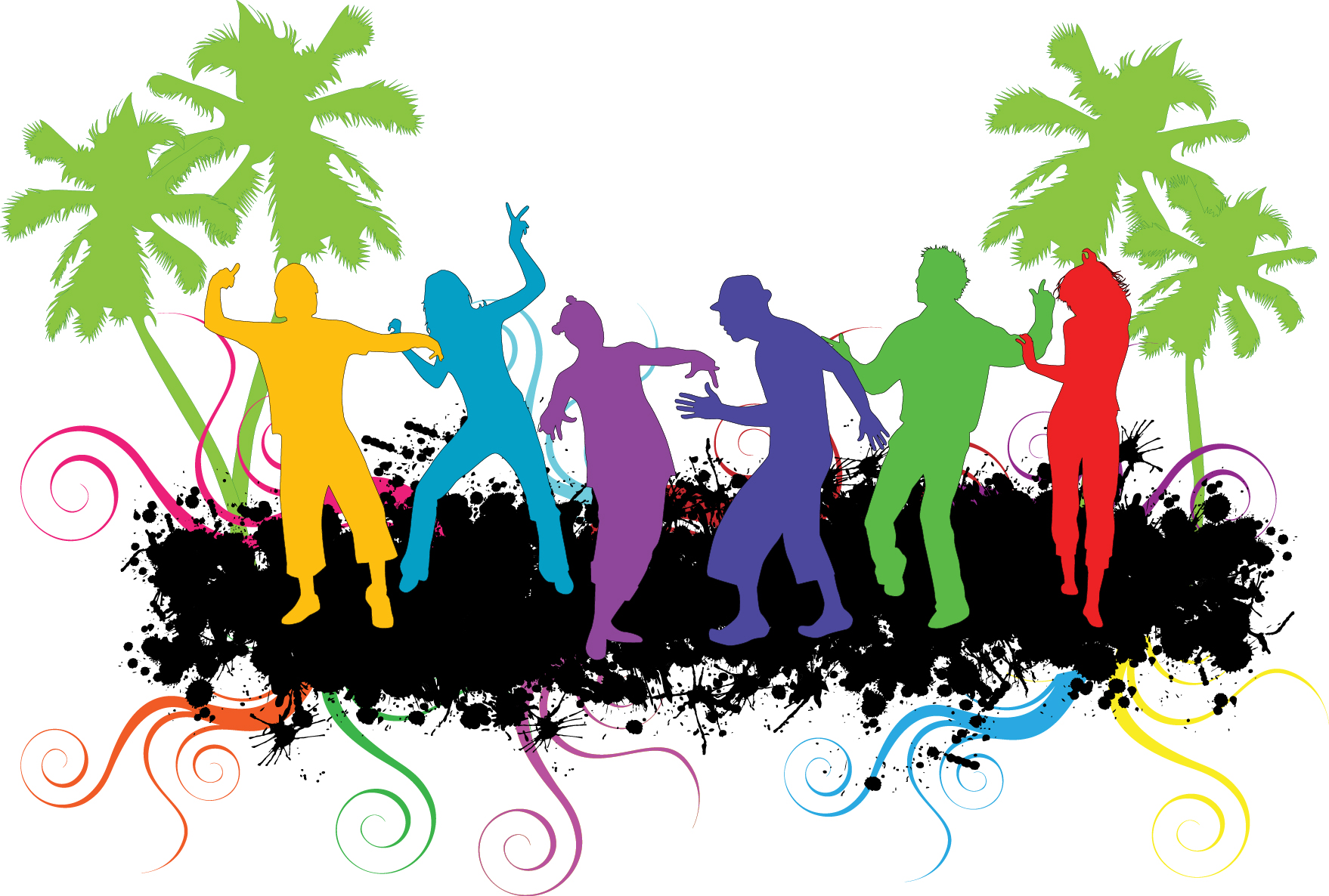 1758x1186 Party People Cliparts