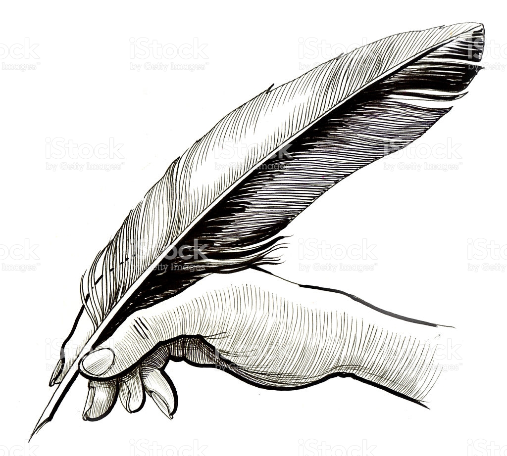 1024x922 Pen Clipart Feather Quill