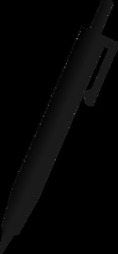 233x500 Pen Silhouette Public Domain Vectors
