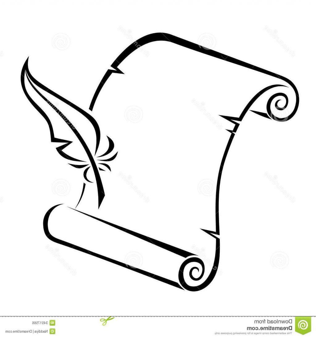 1024x1095 Pleasurable Ideas Pen And Paper Clipart Top 10 Black Silhouette