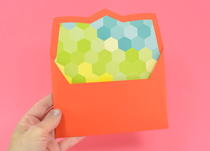 728x523 Make Your Own Lined Envelopes From Any Paper
