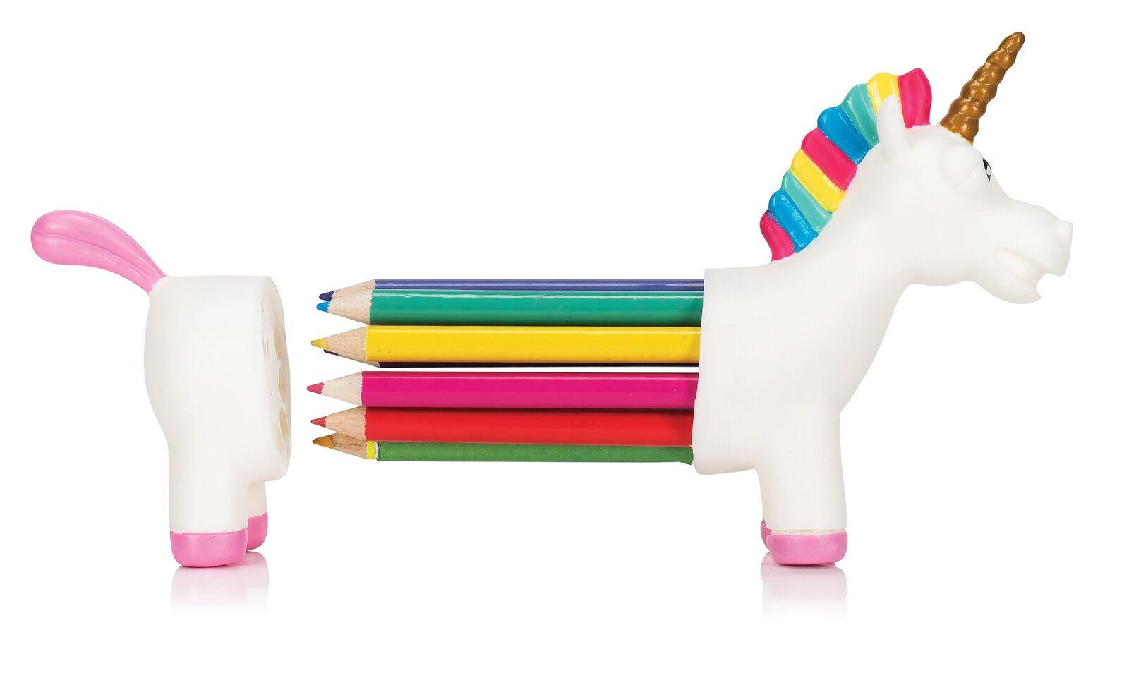 1600x988 Unicorn Rainbow Pencil Holder Npw Unicorn Coloured Pencil Holder