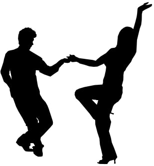 309x333 People Dancing Silhouette (Psd) Official Psds