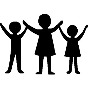 300x300 Holding Hands Clipart Image People Holding Hand And Standing