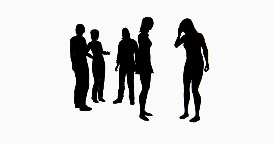 910x480 4k Business People Silhouette Talking Or Using Mobile Phones