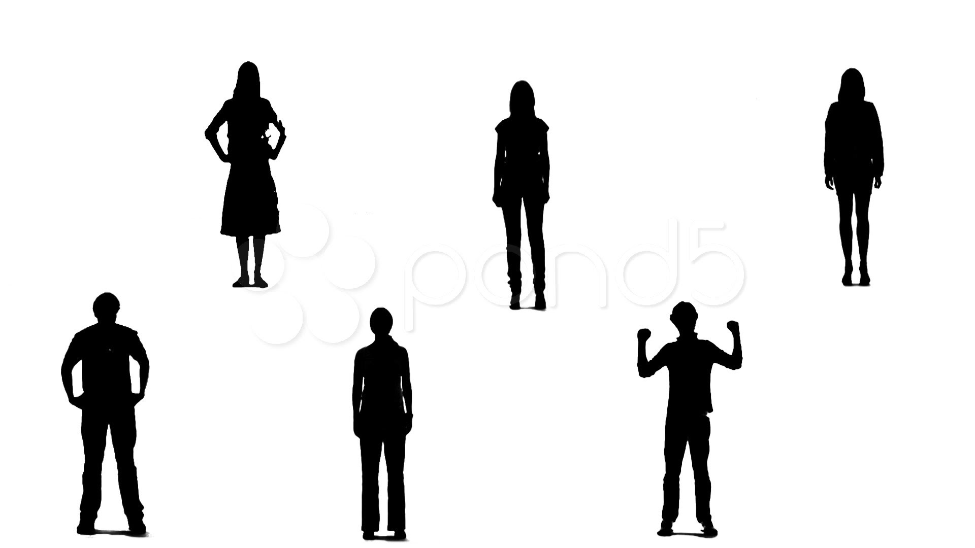 1920x1080 Business People Silhouette Shaking Hands Clipart Library