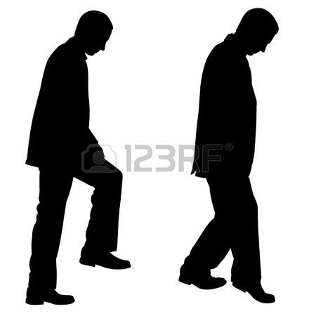 450x450 People Walking Up Stairs Silhouette Stair Design