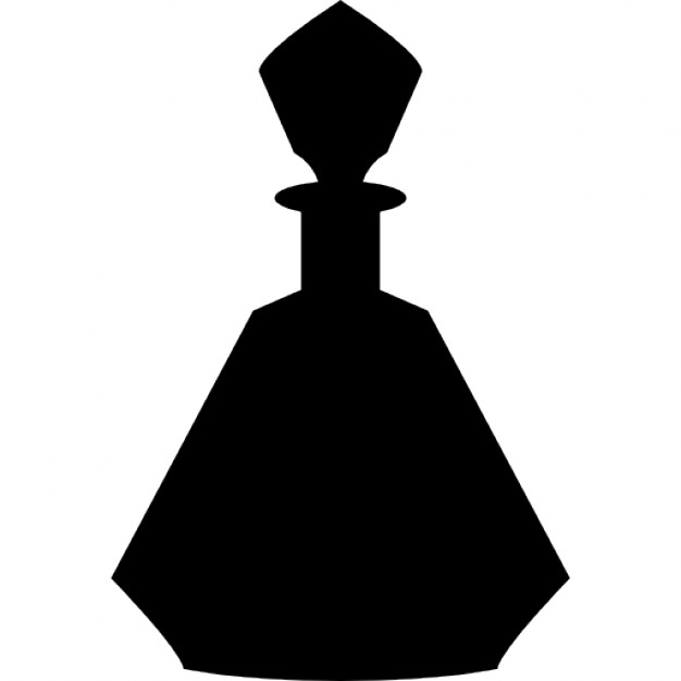 626x626 Perfume Bottle With Geometric Edges Icons Free Download