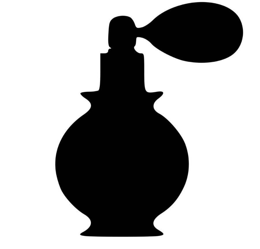 900x863 Bottle Of Perfume Vinyl Decal For Cars Walls Yeti Tumblers Cups