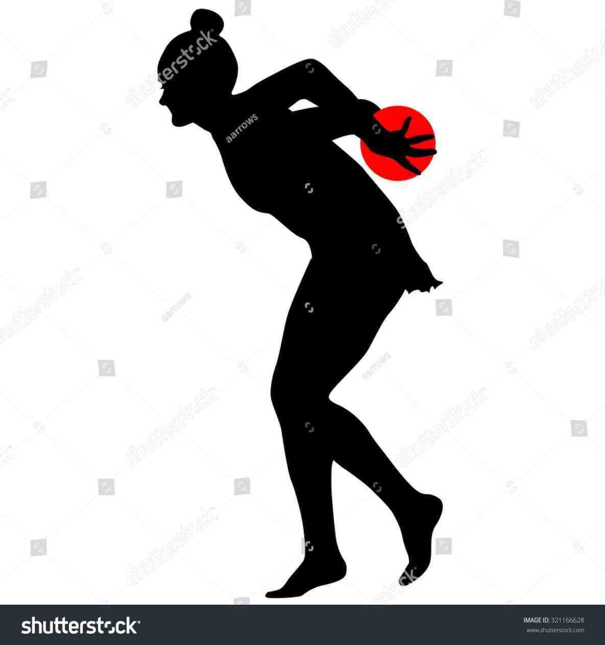 1185x1264 White Illustration Black Female Kickboxing Silhouette Silhouette