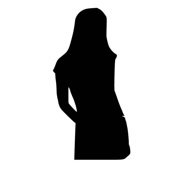 660x660 Female Person Silhouette